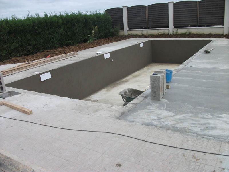 Piscines beaune les tapes de la construction d 39 une for Plan piscine 8x4