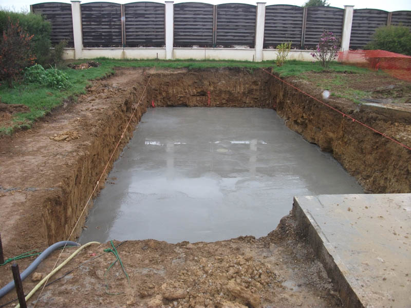 Photo piscine hors sol sans dalle beton of piscine hors - Piscine hors sol en beton ...